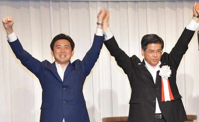 石井国交大臣の政経セミナーに参加し、ご挨拶させていただきました