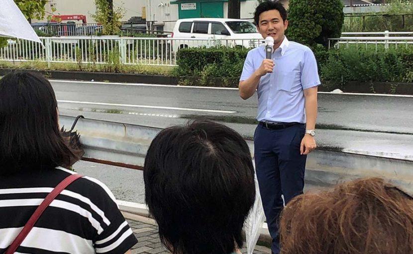名古屋市の中川区、中村区を訪問