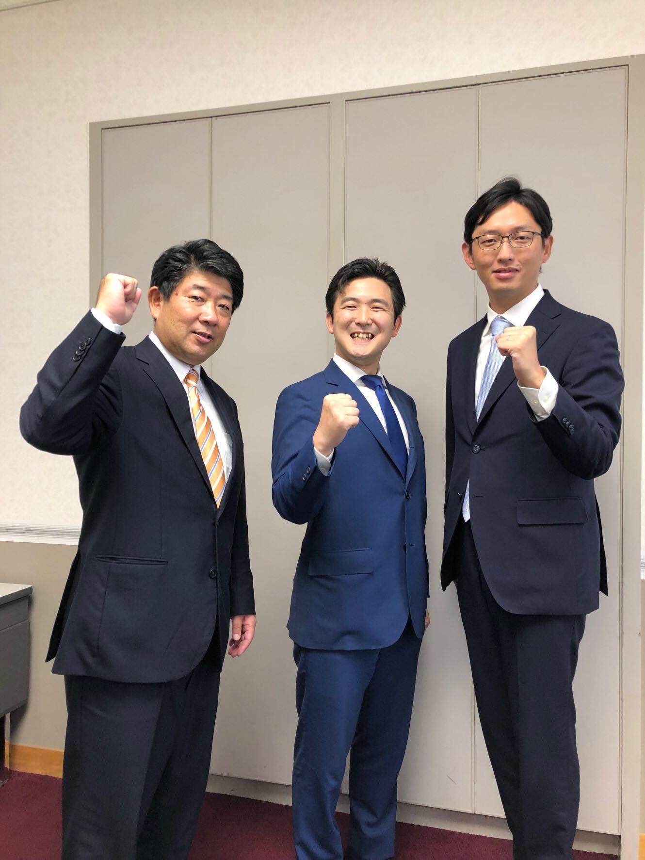 しもの六太さん(福岡)と高橋みつおさん(兵庫)