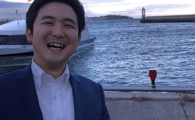 日間賀島を訪問