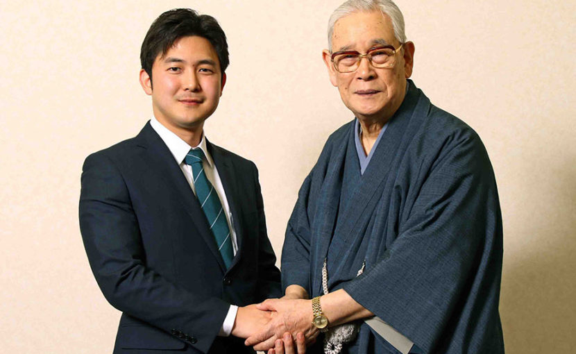 森田実先生と安江