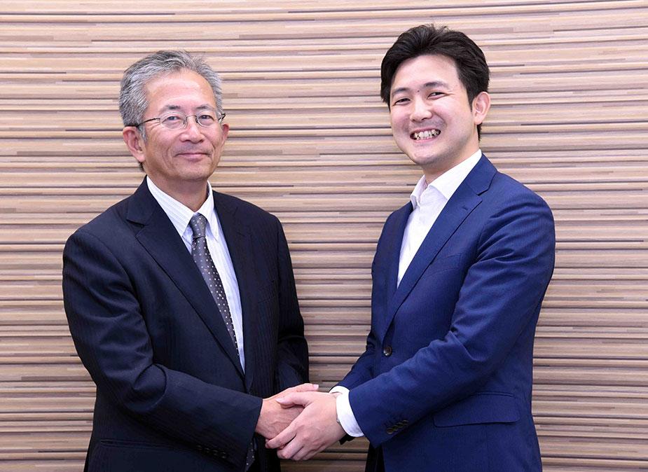 名古屋大学減災連携研究センター教授・センター長の福和伸夫先生と安江