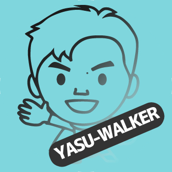 YASU-WALKER@安江のぶお