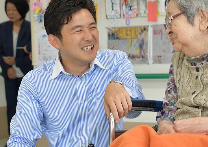 希望溢れる介護現場に 安江伸夫氏(愛知選挙区)