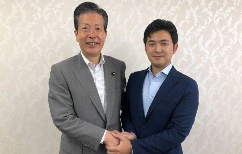 山口那津男代表と記念撮影