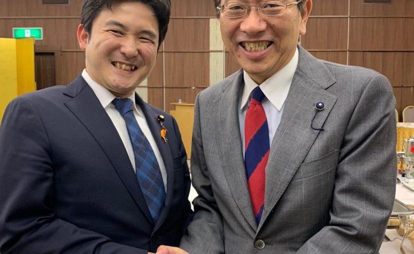岡明彦愛知県会議員を応援する会に参加
