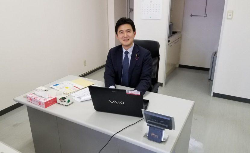 安江のぶお愛知事務所を開設