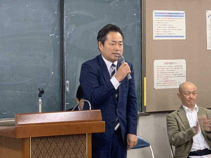 名古屋市議の澤田晃一さんと
