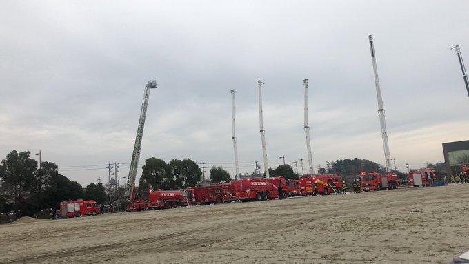 知多市消防出初式に参加