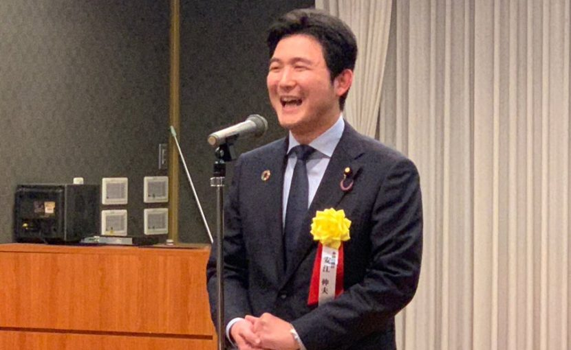 弁護士政治連盟愛知県支部の新年賀詞交歓会に参加