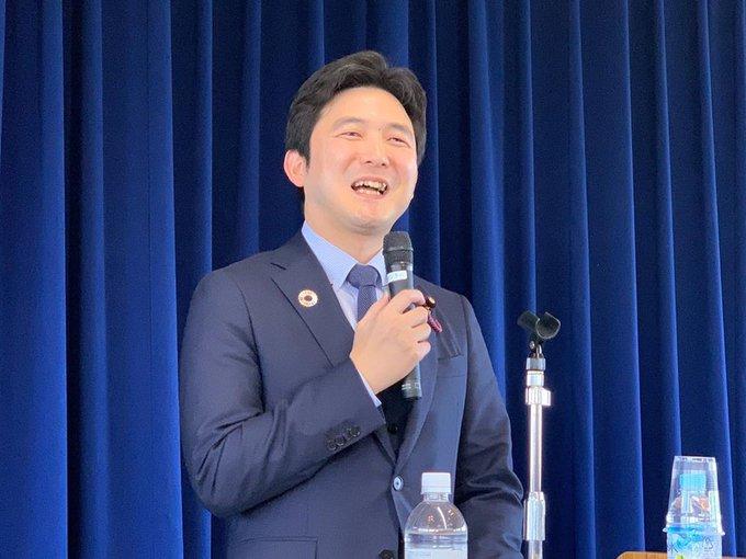 三重県伊賀支部の国政報告会へ