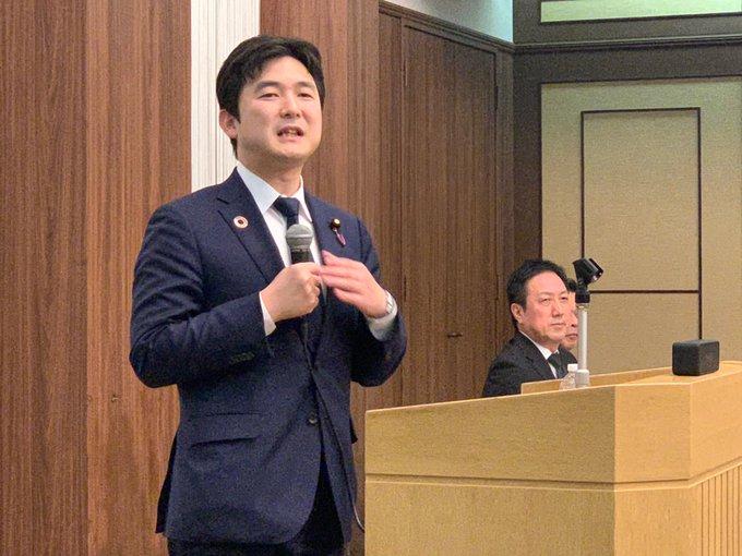 名古屋市守山区の公明党支部会で国政報告