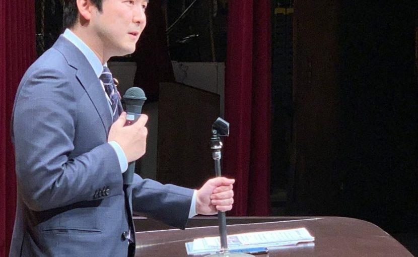 愛知県西尾市の支部会へ