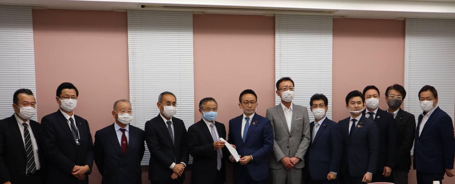 公明党愛知県本部として団体懇談会を実施
