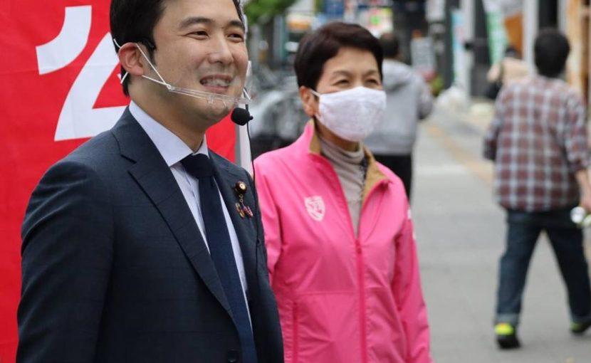 長谷川由美子名古屋市会議員とご挨拶