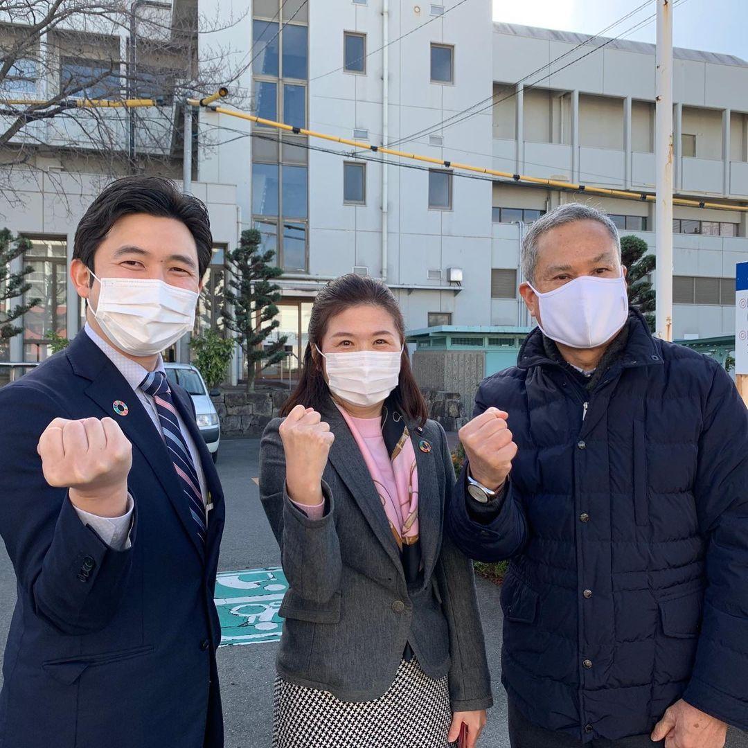 愛知県の蟹江町へ