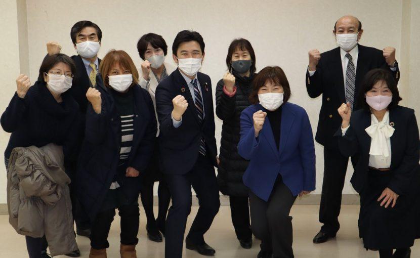 愛知県の大治町で公明党支部会を開催