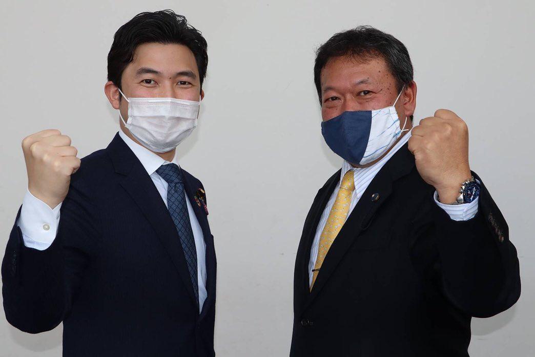 愛知第13選挙区支部長に就任された石井拓県議