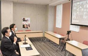 各市町で活用しよう/21年度県予算案の説明聞く/党愛知県本部議会局