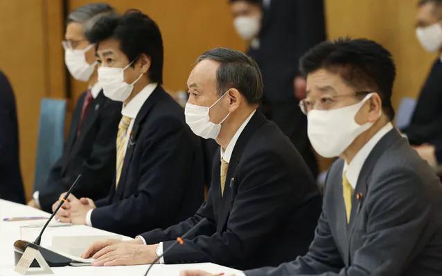 首都圏除く6府県、28日で緊急事態宣言解除を決定