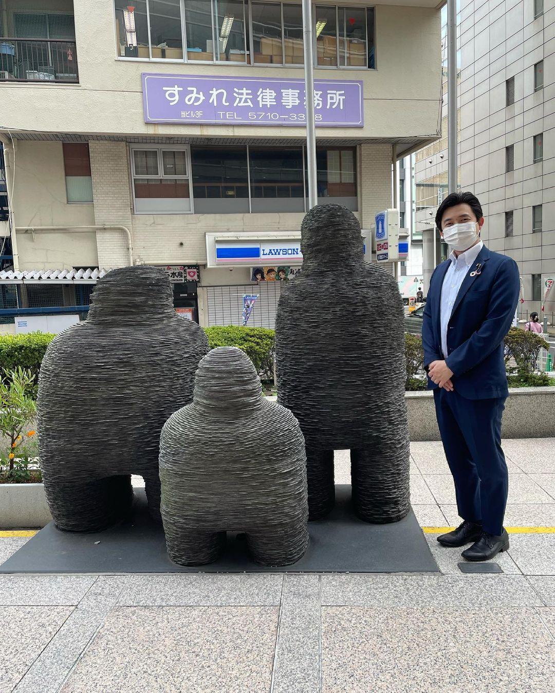 東京都大田区にて