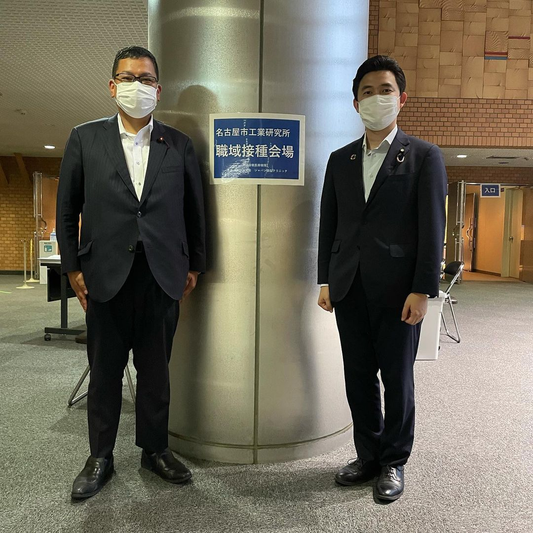 名古屋市熱田区の職域接種会場