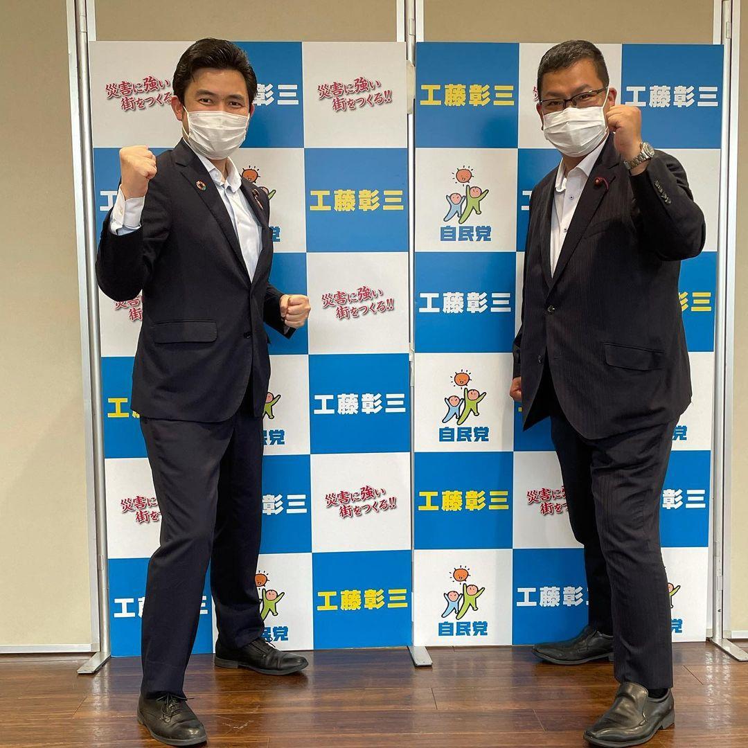 名古屋市熱田区で熱田区で、服部しんのすけ議員と