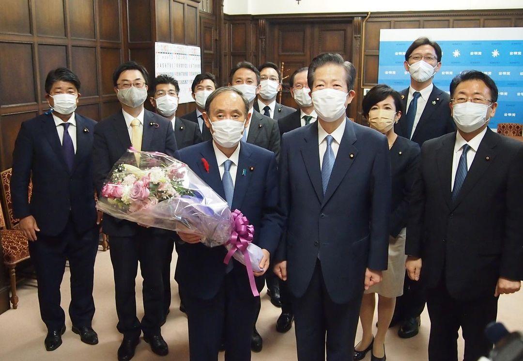 菅義偉前総理大臣もご挨拶