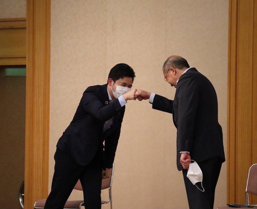 鈴木じゅんじ衆議院議員と共に